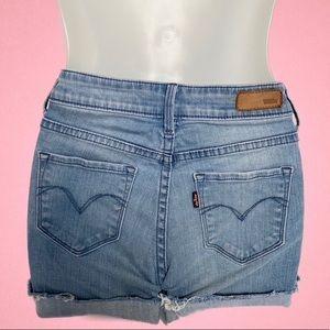 Levi's Cut-Off Denim Shorts
